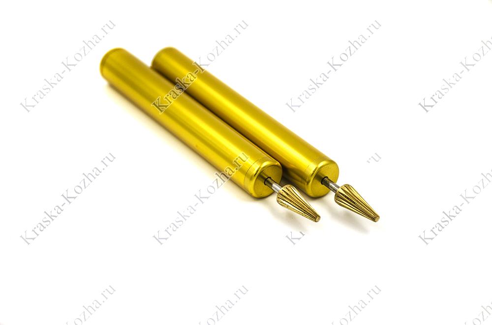 Ручка перо для нанесения краски на урез