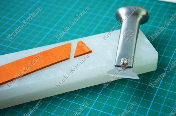 Нож для вырубки кожи