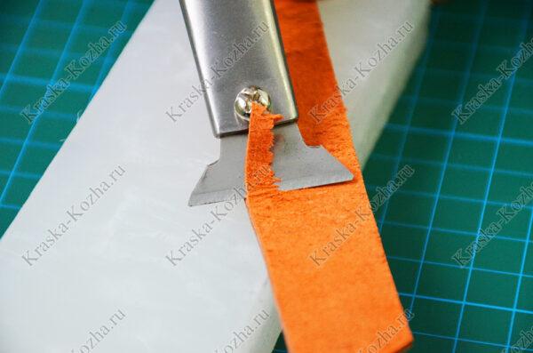 Шорный нож для кожи