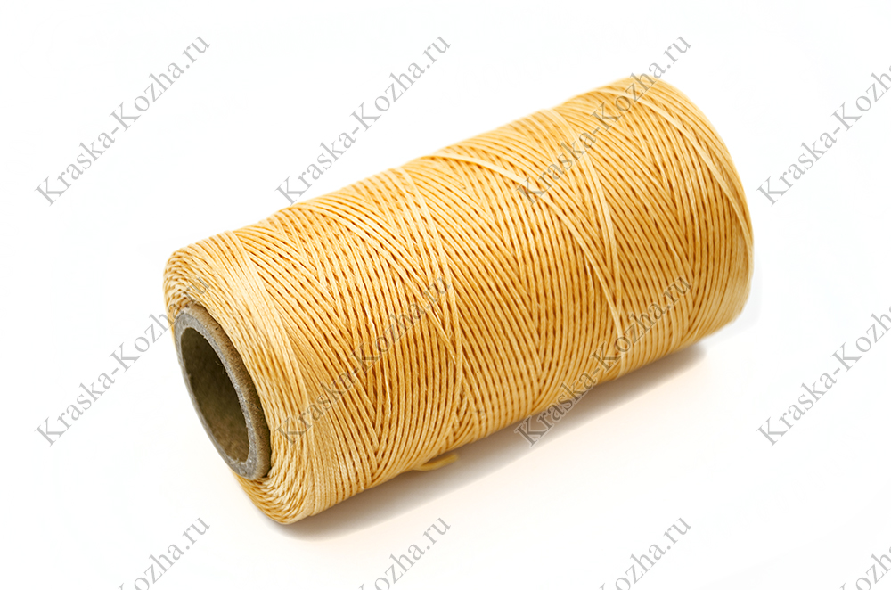 Вощеная нить плетеная