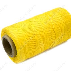Желтая вощеная нить
