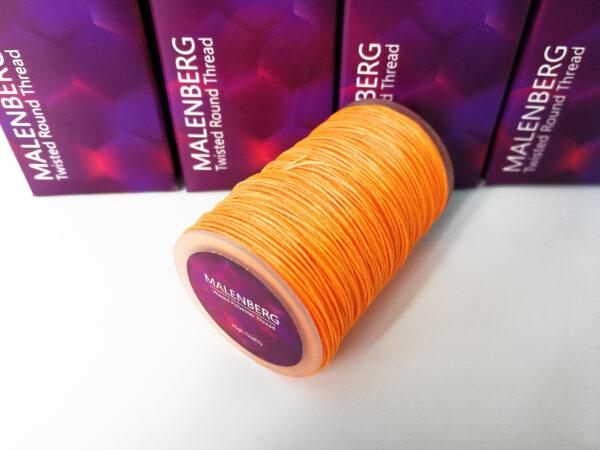 Нить вощеная ярко-оранжевая MALENBERG
