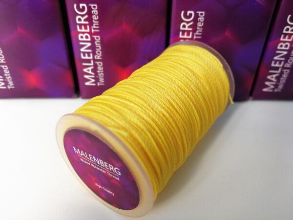 Нить вощеная желтого цвета MALENBERG